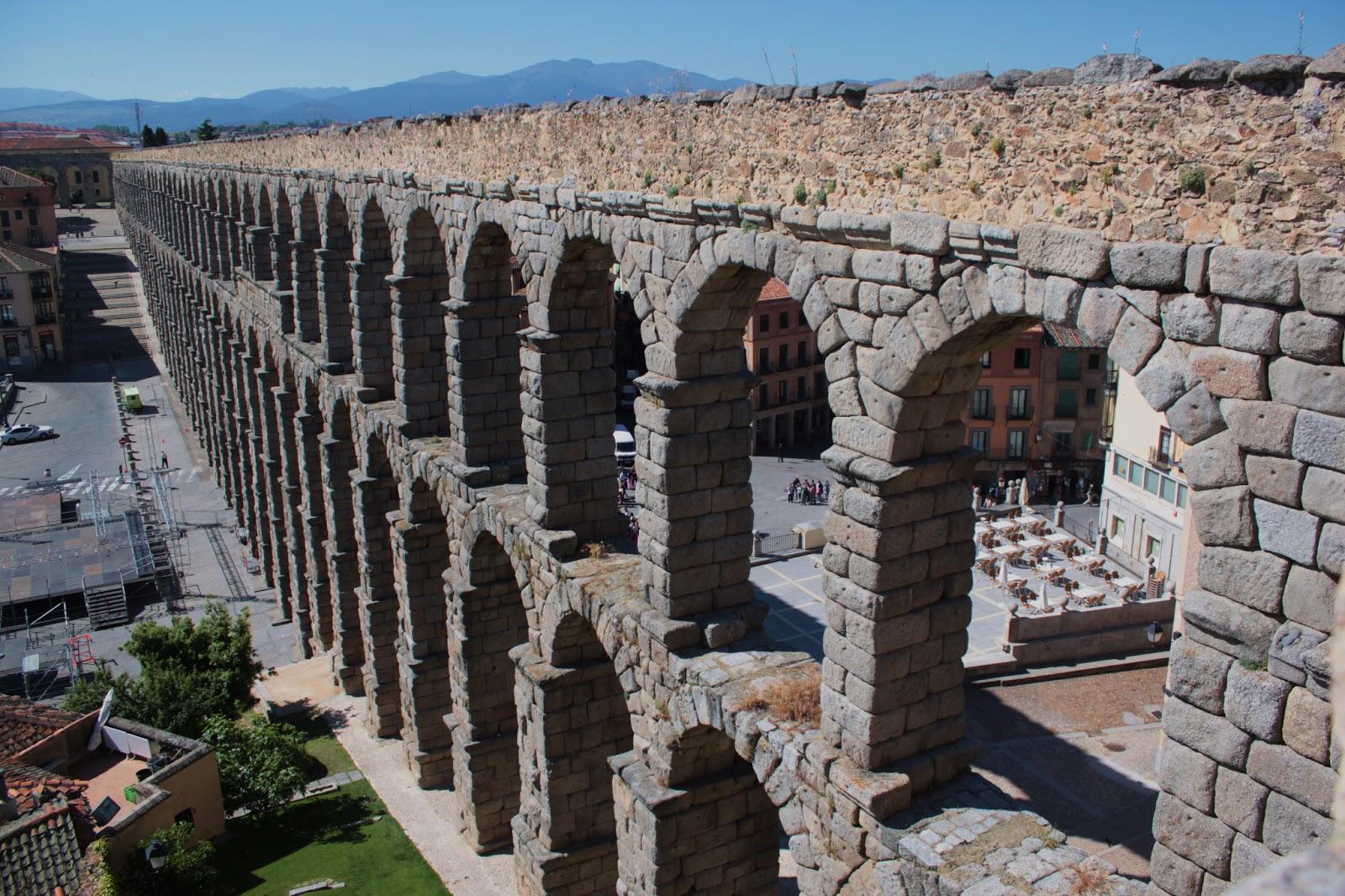 wanderings: Roman Aqueduct in Segovia, Spain, June 2013