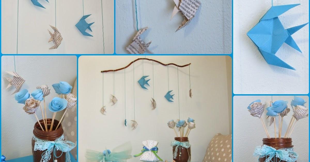 Angioletti e pesci origami per il tuo evento ambra for Idee per il layout del mazzo