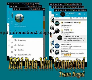 BBM & BBM2 Beta Mini Official Versi 2.9.0.0.1.217