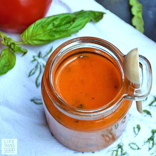 Tomato Vinaigrette Dressing