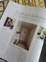 MI RECIBIDOR EN LA REVISTA EL MUEBLE