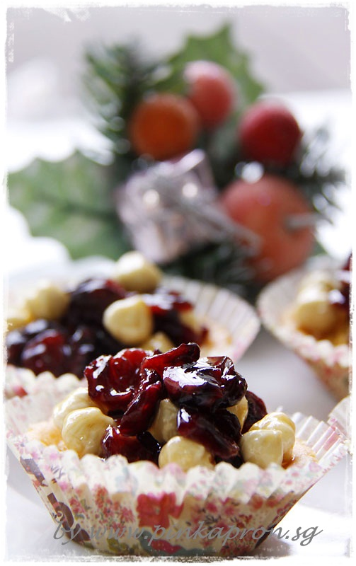 nuts about cranberries caramel almond hazelnuts cranberries and ...
