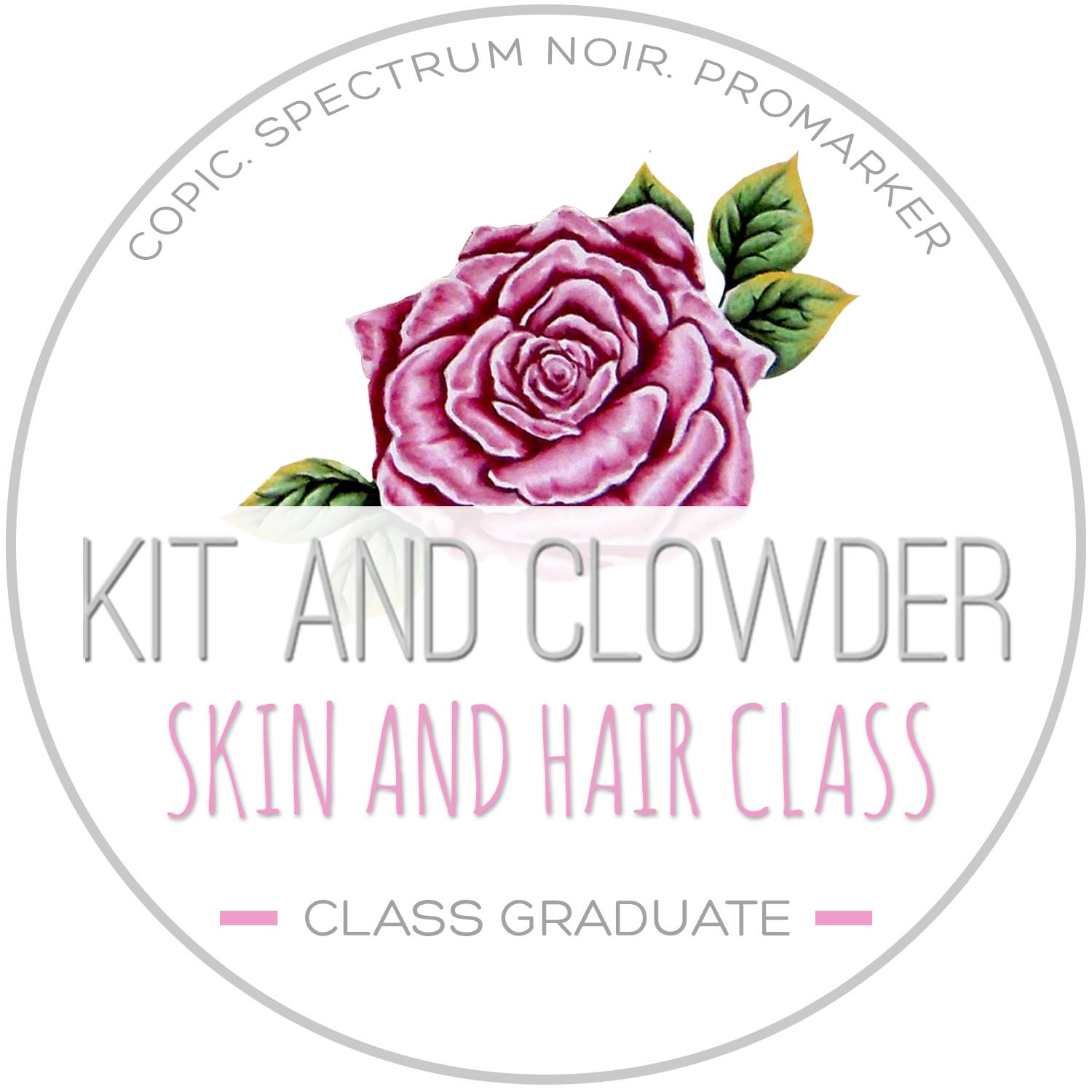 Kit and Clowder Skin and Hair Technique Class Graduate