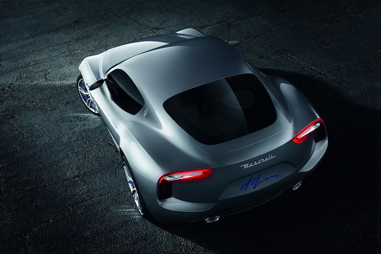 Maserati Alfieri Concept Car top