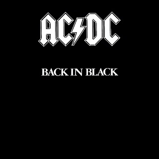 AC DC Back in Black Cover HD Wallpaper