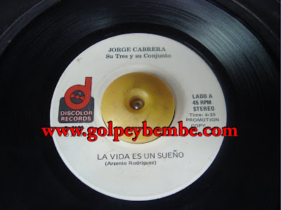 45 Rpm Conjunto Jorge Cabrera - Side A