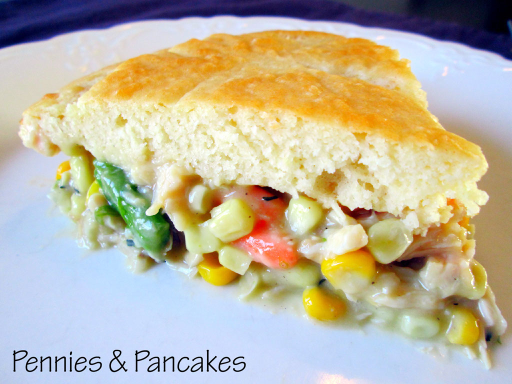 Pennies & Pancakes: Easy Chicken Pot Pie ($2.91 each)