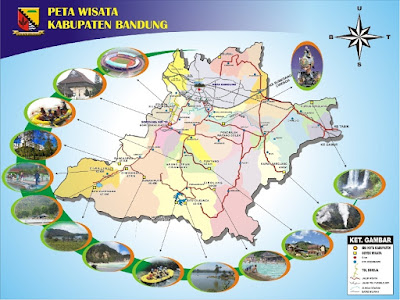 Peta Wisata Kabupaten Bandung
