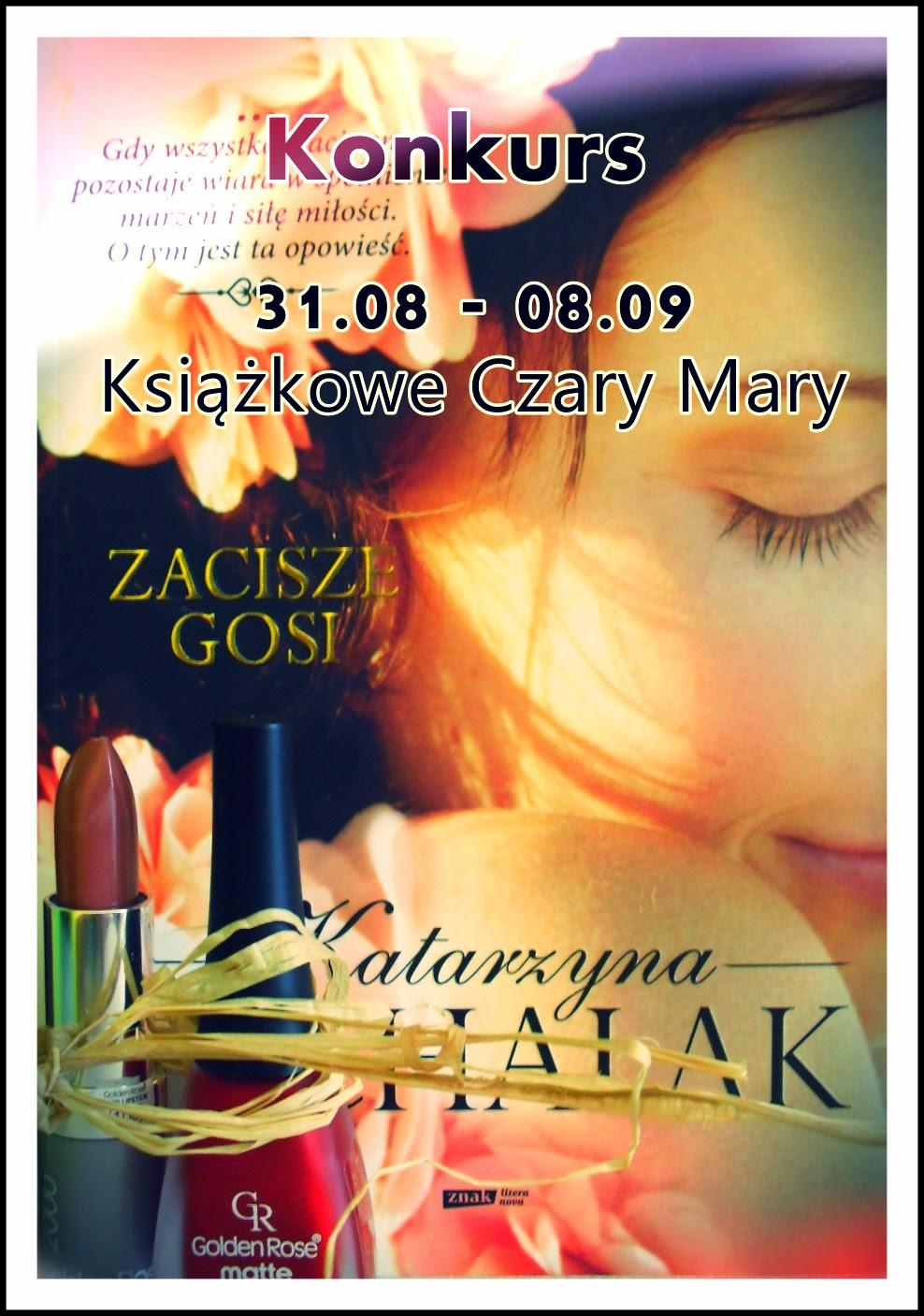 http://szelestksiazek.blogspot.com/2014/08/konkurs-na-zakonczenie-lata.html
