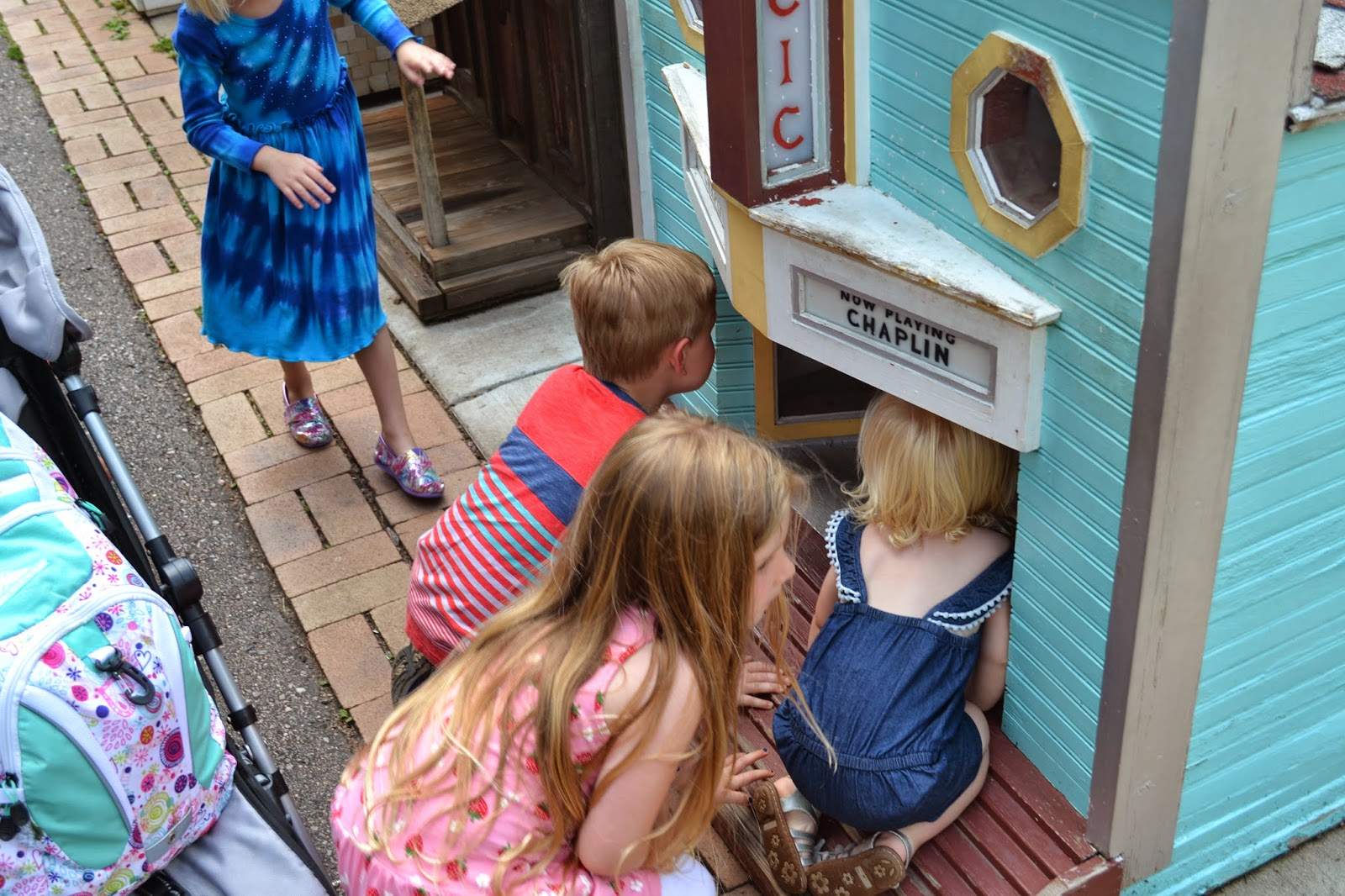 Tiny Town and Railroad Tiny Town Colorado.  Kid friendly activities in Colorado.  Tiny Town Colorado.