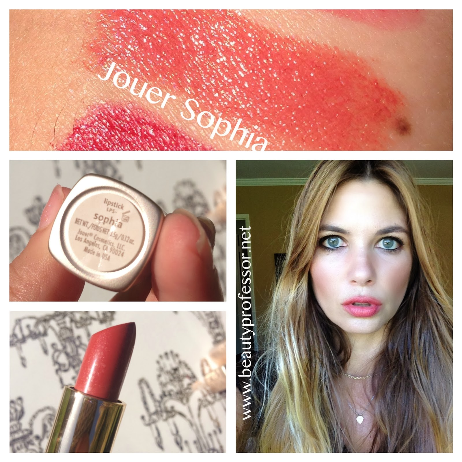 Beauty Professor November 2013 Brunbrun Paris Ultra Rich Lipstick Liquorice Above All Things Jouer Sophia