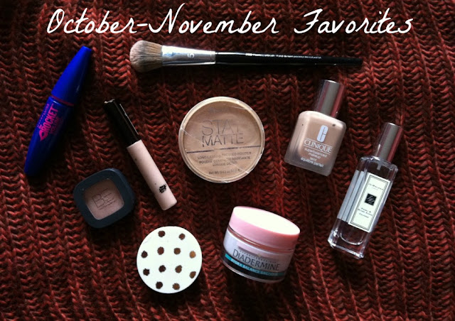 October/November Favorites