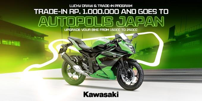 Kawasaki Adakan Trade In dengan Ninja RR Mono dan Bisa Pergi Ke Jepang