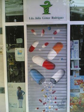 graffiti en cierre