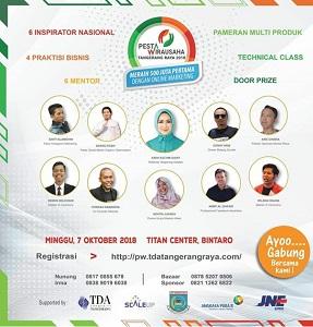 Ikutan Yuk! Pesta Wirausaha TDA Tangerang Raya
