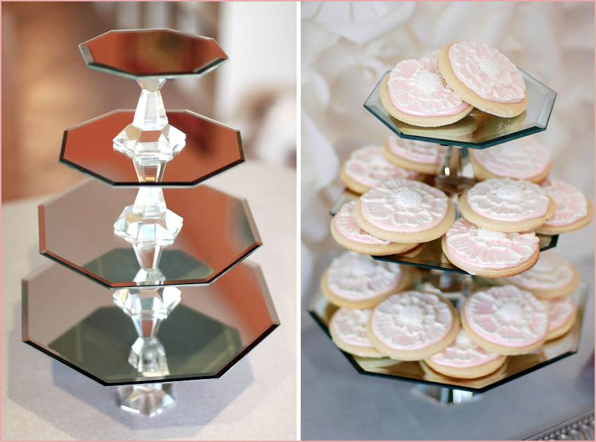 Mariages Rétro: 3 présentoirs à gâteaux à réaliser soi-même