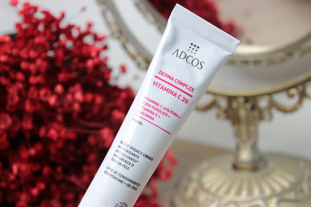 adcos, pele, cuidados faciais, face, vitamina c, anti envelhecimento, produtos recebidos, fashion mimi, pele, beleza