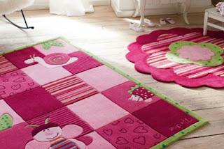 tapete cor de rosa