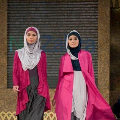 Hijab moderne - robes chics avec hijab pour femmes voilées