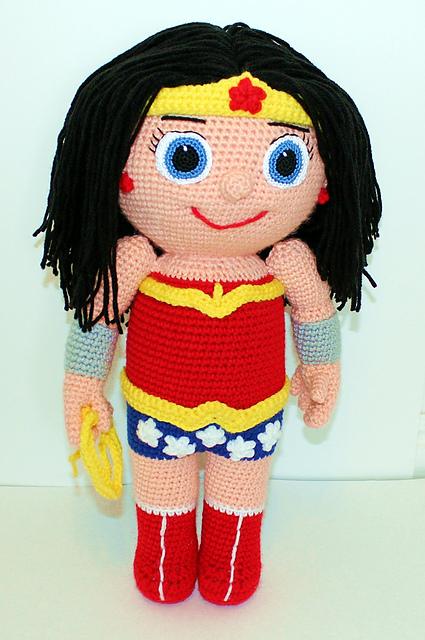 Blooming Lovely: Crochet Amigurumi Kid Heroes Patterns
