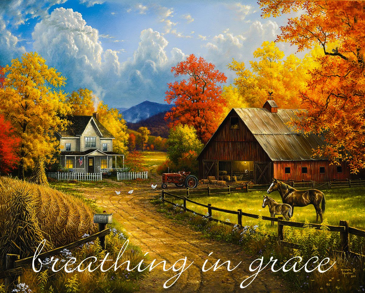 Breathing in Grace