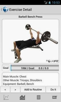 JEFIT Pro - Workout & Fitness android apk - Screenshoot