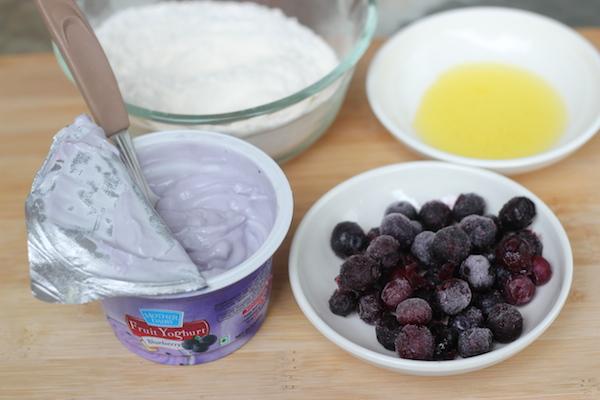 blueberry pancakes, eggless blueberry pancakes, triple blueberry pancakes
