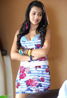 Trisha Latest stills from Teenmaar Movie