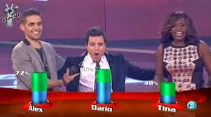 Darío Benítez a las semifinales de La Voz