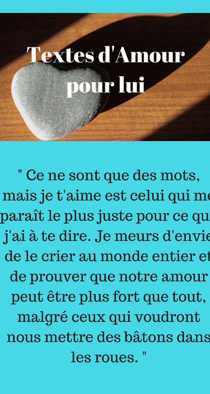 Textes d 39 amour pour son copain 2018 sms d 39 amour et messages dr les - Comment on sait qu on est amoureux ...
