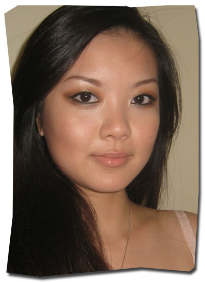 Wearing Chanel Pro Lumiere foundation - set with a very, very light
