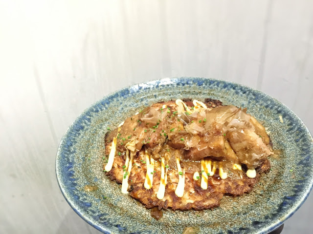 Babette Singapore - Braised Pork Belly Okonomiyaki