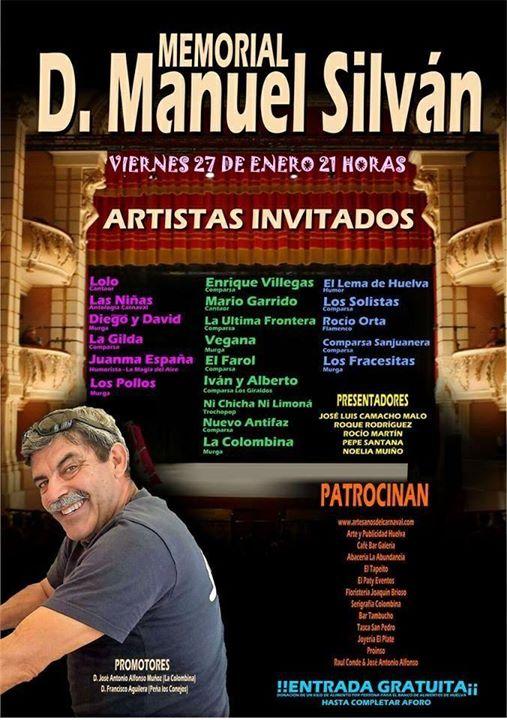 MEMORIAL D. MANUEL SILVÁN