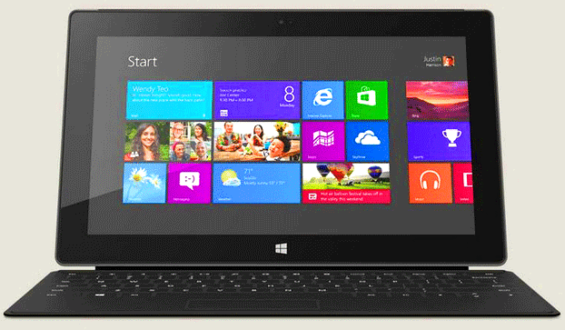 Microsoft Surface pro tablet launches with Windows 8 pro OS