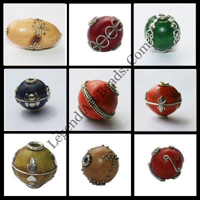 Fashion jewelry wholesale beaded wooden beads