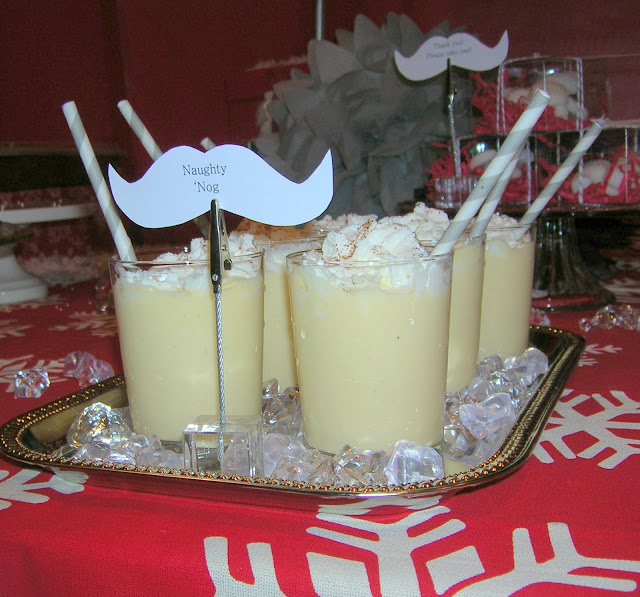 Movember Santa's Moustache/Mustache Bash party ideas