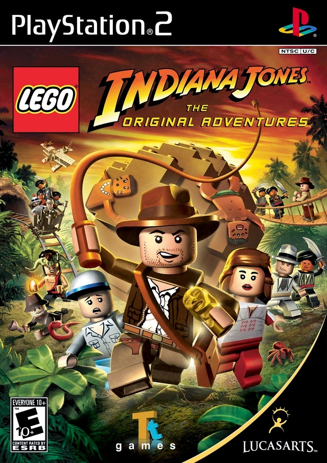 Lego Indiana Jones PS2 ISO