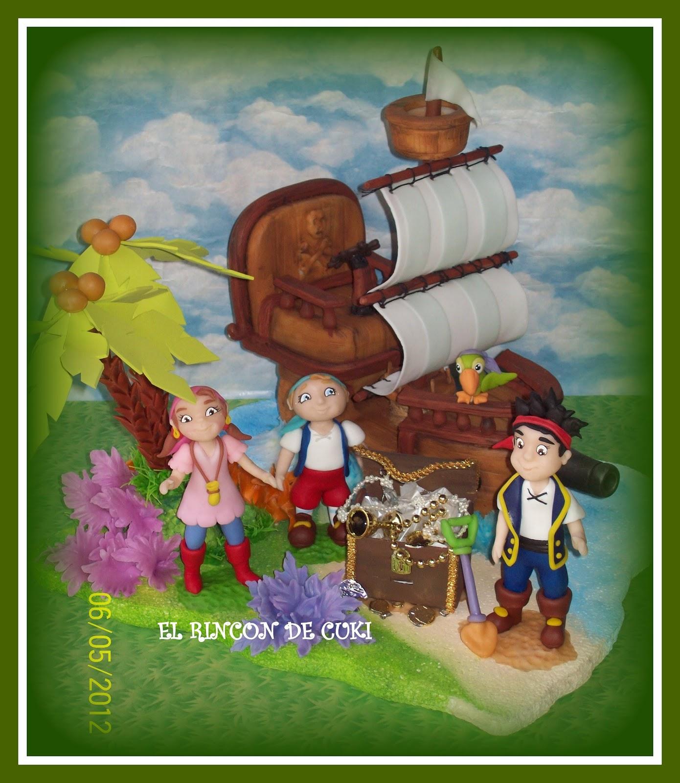 Jake y Los Piratas de Nunca Jamas - El Sombrero de Garfio