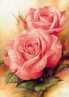 Ofereço estás flores a todas as minhas e meus seguidores.