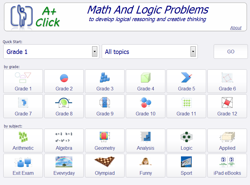 Free technology for teachers a click mathematics games for all