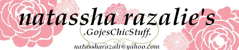 Natassha Razalie's Gojes Chic Stuff