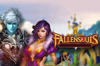 Screenshots of the Fallen souls for Android tablet, phone.