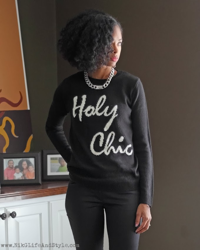 Holy Chic Sweater Forever21 NikGLifeAndStyle
