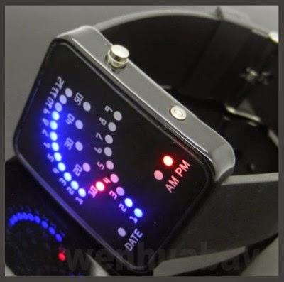 ripcurl led jam tangan unik futuristik