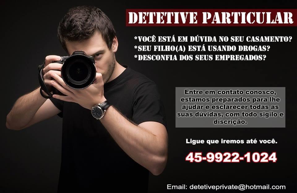 Detetive particular no Paraná!!!