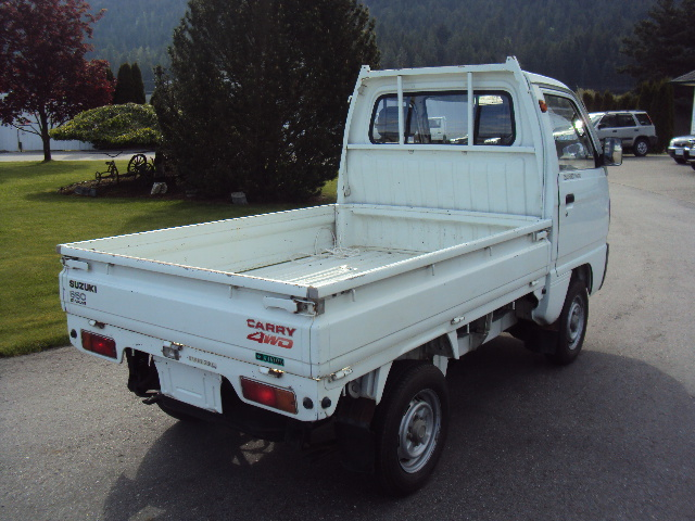 j cruisers jdm vehicles parts in canada 1991 suzuki carry mini truck db51t 4wd 5 speed for sale. Black Bedroom Furniture Sets. Home Design Ideas