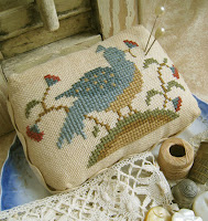 Bird 'N Blossom Pin Cushion - $7.50
