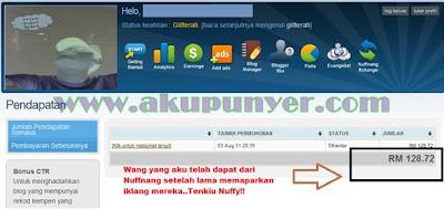 Nuffnang Malaysia,BE Nuffnang,gambar pelik Nuffnang,Cara buat duit dengan Nuffnang