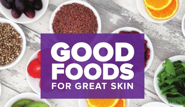 Foods with good boob skin nutrition
