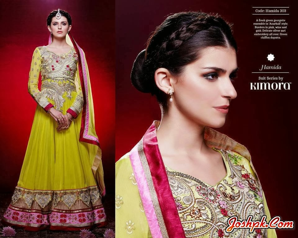 Indian Attractive Wedding Dresses Designs Collection 2014 For Women